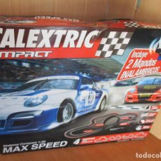 Scalextric: SCALEXTRIC COMPACT: MAXI SPEED (COMPLETO Y SIN USO). Lote 177056985