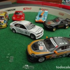 Scalextric: LOTE 6 COCHES DE SCALEXTRIC USADOS. Lote 177577478