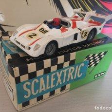 Scalextric: RENAULT ALPINE SCALEXTRIC EXIN CON CAJA ORIGINAL. Lote 177582593