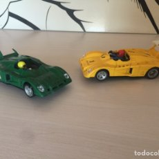 Scalextric: LOTE DE DOS SCALEXTRIC RENAULT ALPINE EXIN. Lote 177582802