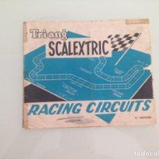 Scalextric: SLOT, LOTE RACING CIRCUITS, + CATALOGO TRAMOS Y PISTAS, ACCESORIOS, SCALEXTRIC. Lote 177598433