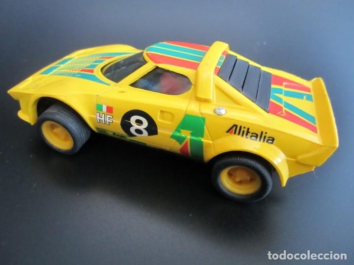 ALFREEDOM SCALEXTRIC EXIN LANCIA STRATOS ALITALIA AMARILLO REF. 4055 AÑO 1977 (Juguetes - Slot Cars - Scalextric Exin)