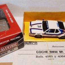 Scalextric: BMW M1 REF.-4063/4064 DE EXIN. Lote 177780237