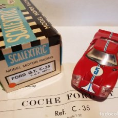 Scalextric: FORD GT REF.-C-35 DE EXIN. Lote 177832982