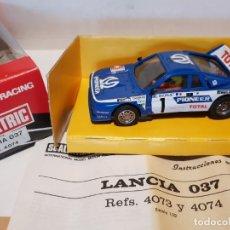 Scalextric: LANCIA 037 CON LUZ REF.-4074 DE EXIN. Lote 177938053