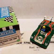 Scalextric: ALPINE RENAULT-2000 TURBO REF.-4053 DE EXIN. Lote 178056158