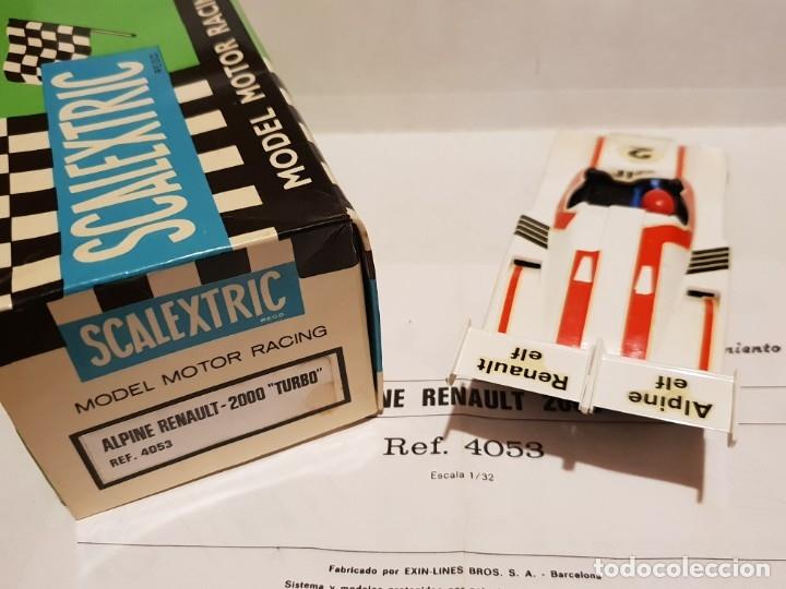 Scalextric: ALPINE RENAULT-2000 TURBO REF.-4053 DE EXIN - Foto 2 - 178056355