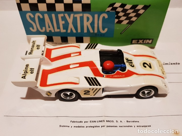 Scalextric: ALPINE RENAULT-2000 TURBO REF.-4053 DE EXIN - Foto 4 - 178056355
