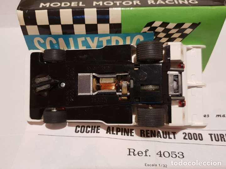 Scalextric: ALPINE RENAULT-2000 TURBO REF.-4053 DE EXIN - Foto 5 - 178056355