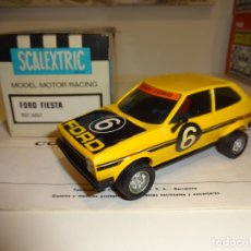 Scalextric: SCALEXTRIC. EXIN. FORD FIESTA AMARILLO. REF. 4057. Lote 178060709