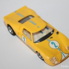 Scalextric: SCALEXTRIC FORD GT - REF: C-35- AMARILLO MADE IN SPAIN. Lote 178275028