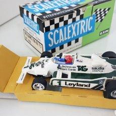 Scalextric: WILLIAMS FW07 FÓRMULA 1 MODEL MOTOR RACING SCALEXTRIC SLOT. Lote 178581660