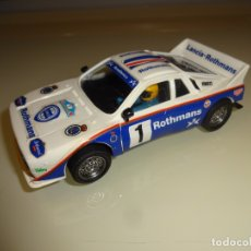 Scalextric: SCALEXTRIC. EXIN. LANCIA 037 ROTHMANS. Lote 178827627