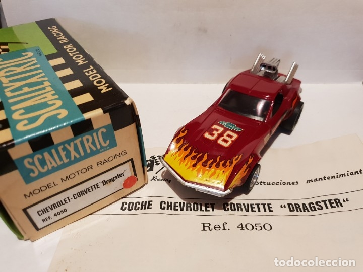 CHEVROLET CORVETTE REF.-4050 DE EXIN (Juguetes - Slot Cars - Scalextric Exin)