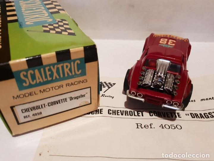 Scalextric: CHEVROLET CORVETTE REF.-4050 DE EXIN - Foto 2 - 178890690