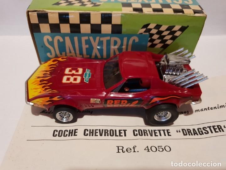 Scalextric: CHEVROLET CORVETTE REF.-4050 DE EXIN - Foto 3 - 178890690