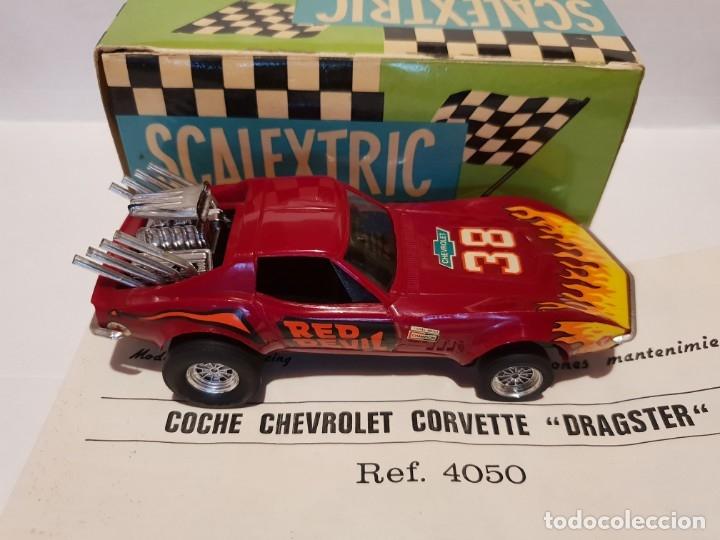 Scalextric: CHEVROLET CORVETTE REF.-4050 DE EXIN - Foto 4 - 178890690