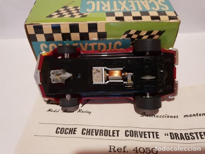 Scalextric: CHEVROLET CORVETTE REF.-4050 DE EXIN - Foto 5 - 178890690