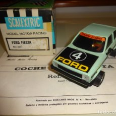 Scalextric: SCALEXTRIC. EXIN. FORD FIESTA AZUL. REF. 4057. Lote 178904662