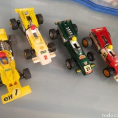 Scalextric: LOTE 4 SCALEXTRIC .3 MC LAREN. 1 FORD TYRELL. SIN MOTORES. Lote 178964103