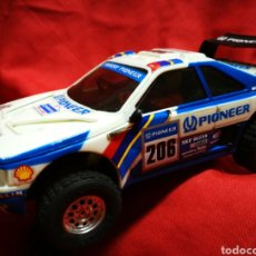 Scalextric: SCALEXTRIC EXIN- PEUGEOT 405 SCX, BLANCO/AZUL (PARÍS-DAKAR) A. VATANEN. (MADE IN SPAIN).. Lote 179008100