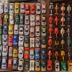 Scalextric: GRAN LOTE DE COCHES DE DISTINTA MARCA. SCALEXTRIC. NINCO. SCL. FLY. CARS MOTCHBOX. TEAM. CARS SLOT.. Lote 179100270