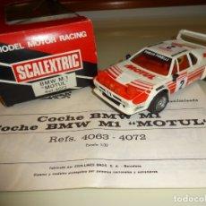 Scalextric: SCALEXTRIC. EXIN. BMW M1 MOTUL. REF. 4072. Lote 179114942