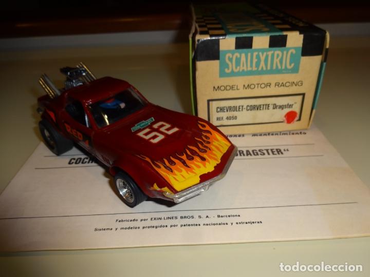 Scalextric: Scalextric. Exin. Chevrolet Corvette Dragster. Ref. 4050 - Foto 2 - 179321001