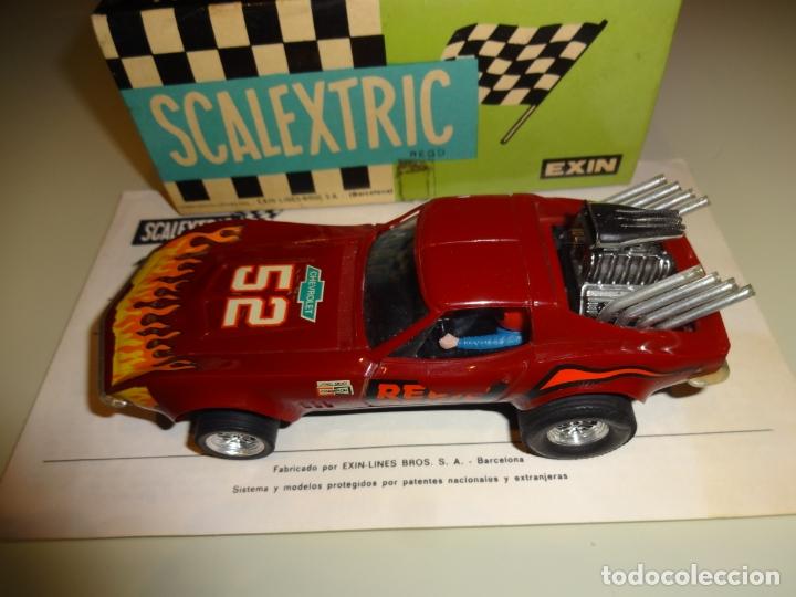 Scalextric: Scalextric. Exin. Chevrolet Corvette Dragster. Ref. 4050 - Foto 3 - 179321001
