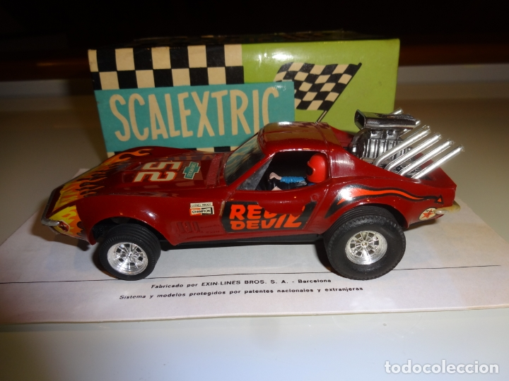 Scalextric: Scalextric. Exin. Chevrolet Corvette Dragster. Ref. 4050 - Foto 4 - 179321001