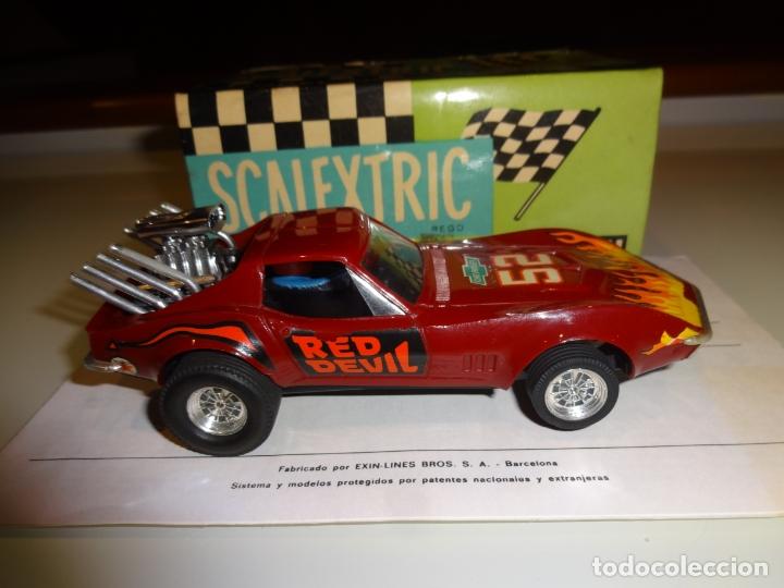 Scalextric: Scalextric. Exin. Chevrolet Corvette Dragster. Ref. 4050 - Foto 5 - 179321001
