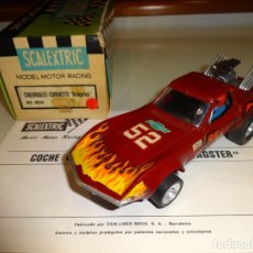 Scalextric: SCALEXTRIC. EXIN. CHEVROLET CORVETTE DRAGSTER. REF. 4050. Lote 179321001