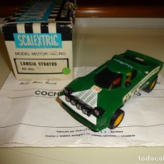 Scalextric: SCALEXTRIC. EXIN. LANCIA STRATOS VERDE 1º SERIE. REF. 4055. Lote 179326957