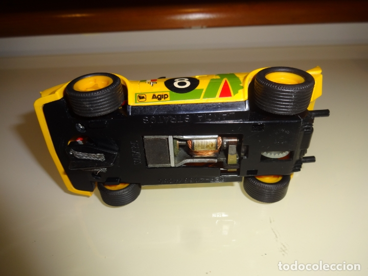Scalextric: Scalextric. Exin. Lancia stratos amarillo 1º serie. Ref. 4055 - Foto 4 - 179327080