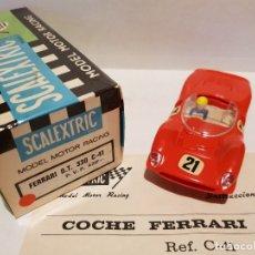 Scalextric: FERRARI GT 330 ROJO CLARO DE EXIN REF.-C-41 . Lote 179532480