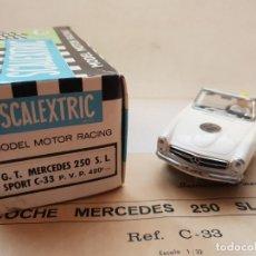 Scalextric: MERCEDES 250 S.L SPORT REF.-C-33 DE EXIN. Lote 179952193