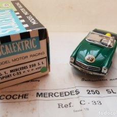 Scalextric: MERCEDES 250 S.L SPORT REF.-C-33 DE EXIN. Lote 179952297