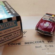 Scalextric: MERCEDES 250 S.L SPORT REF.-C-33 DE EXIN. Lote 179952403