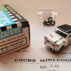 Scalextric: MINI COOPER REF.-C-45 DE EXIN. Lote 179952516