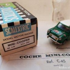 Scalextric: MINI COOPER REF.-C-45 DE EXIN. Lote 179952565
