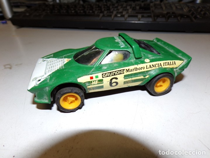 COCHE SCALEXTRIC LANCIA STRATOS (REF. 4055 / 4065) (Juguetes - Slot Cars - Scalextric Exin)