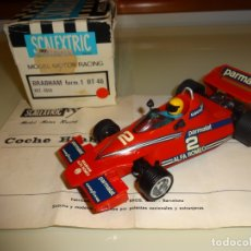 Scalextric: SCALEXTRIC. EXIN. BRABHAM F1 BT46 ROJO OSCURO. REF. 4056. Lote 180167520