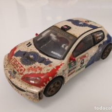 Scalextric: PEUGEOT 206 WRC SCALEXTRIC SLOT EFECTO BARRO PROCEDENTE DE CIRCUITO. Lote 180290825
