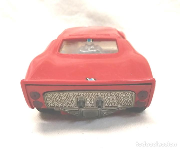 Scalextric: Ford GT Ref C 35 rojo de Exin Scalextric años 70, con caja - Foto 4 - 180296231