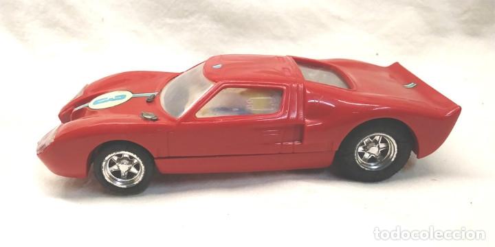 Scalextric: Ford GT Ref C 35 rojo de Exin Scalextric años 70, con caja - Foto 5 - 180296231