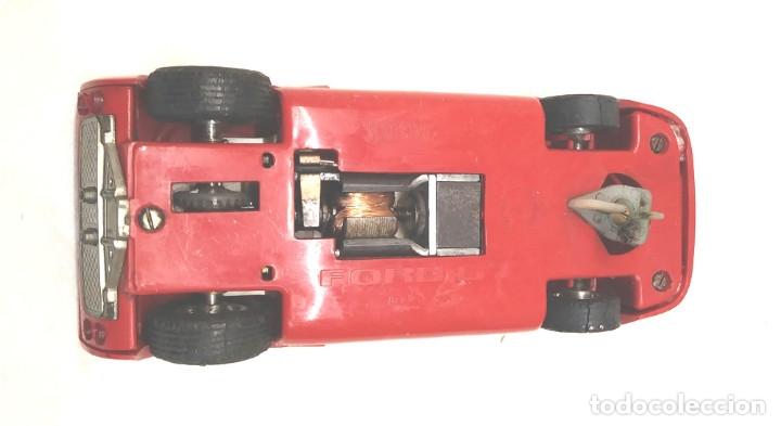 Scalextric: Ford GT Ref C 35 rojo de Exin Scalextric años 70, con caja - Foto 6 - 180296231