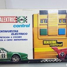 Scalextric: SCALEXTRIC EXIN CUENTAVUELTAS ELÉCTRICO. Lote 180864837