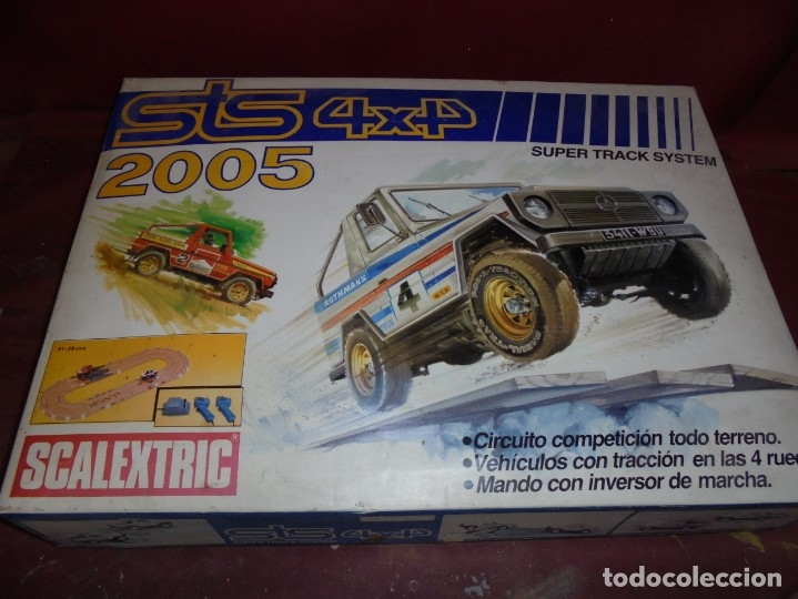 MAGNIFICO ANTIGUO SCALEXTRIC 4X4 REF 2005 CON 3 COCHES (Juguetes - Slot Cars - Scalextric Exin)