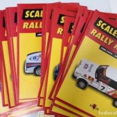 Scalextric: LOTE DE FASCÍCULOS ALTAYA PLANETA DE SCALEXTRIC RALLY MITICOS. Lote 181080662