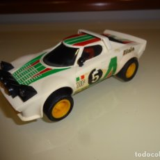 Scalextric: SCALEXTRIC. EXIN. LANCIA STRATOS BLANCO 1º SERIE. REF. 4055. Lote 181197497